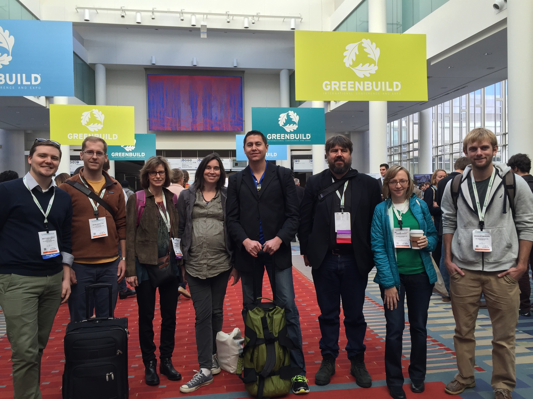 The TGE Team bids Greenbuild goodbye.