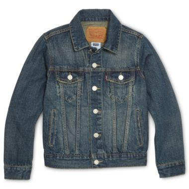 There is nothing more Classic than a Levi's Denim Jacket. This Boys  Levi's  Denim Jacket would be just as cool on a Boy as on a Girl.See Above Photo of Denim Jacket worn with a Tutu (a Girls Denim Jacket does not need to be girly) in fact, it is cutest when it is classic worn with Girly Skirts and Graphics.