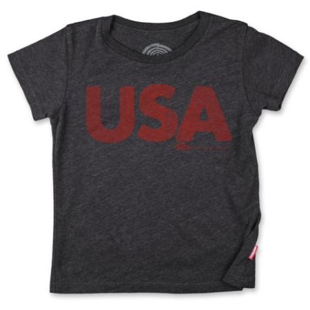 I know, I know, this  PreFresh U.S.A. T-Shirt  is NOT an Allover Star Printed T-Shirt, but I had to sneak this one in because I love it and it really is the perfect T-Shirt for your Little One to show their Excitement for Team U.S.A. This would be a great T-Shirt to DIY and add Stars to as below to transform it into an Allover Star Printed U.S.A. T-Shirt.
