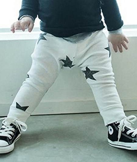 These Nununu  Star Leggings are cool and comfortable with a blend of Attitude, Style, and Humor, and they come in five different colors. These Unisex Allover Star Printed Leggings will have you seeing Stars, as these Leggings have been spotted on several Celebrities Tots-- Samuel Affleck, Zuma Rossdale, Flynn Bloom, Georgia Dane, and Luca Cruz Comrie (Hillary Duff's son).