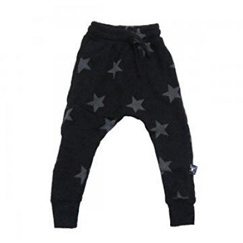 These Nununu  Baggy Star Pants have a super cool Slouchy Sweatpants Fit and are very comfy Sweats with an Allover Star Print. And they are Unisex… I Love that!
