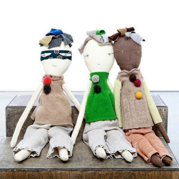 The Jess Brown  Boy Rag Doll is perfect for the Little Boy in your life!