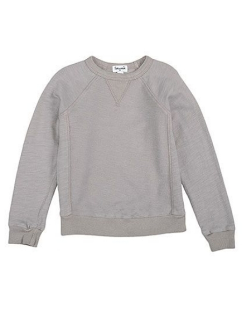 I also Love this  Slub Jersey Sweatshirt from Splendid .It is a Cool Vintage style sweatshirt with a Classic triangle gusset detail at the collar. The Slub Fabric is perfect for Spring and Summer (very Beachy)!