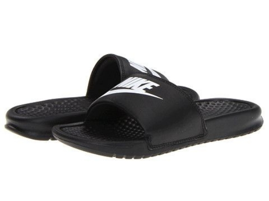 The Nike Kids Benassi is a super comfy and super sporty Slide. Your Little One will be ready for warmer weather with these superior comfort Slides that have a jersey lining and foam package.
