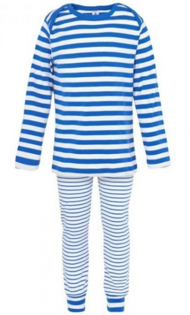 These  Petit Bateau Blue Stripe Pyjamas  are playful with mixed stripe patterns, and the boat neckline gives your little one plenty of room to move.