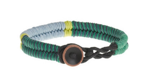 This  J.Crew KIDS' WAXED CORD BRACELET is a cool and colorful bracelet with a simple button closure that makes it easy for your little one to get on and off.