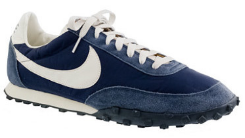 These  J.Crew NIKE® VINTAGE COLLECTION WAFFLE® RACER SNEAKERS is a collaboration with J.Crew and Nike. The Waffle Racer, originally introduced in 1974, is named after its breakthrough rubber treads (an early prototype was made with rubber poured into a waffle iron). This is an exact replica of the vintage style, from the waffle-pattern treads to the mix of suede and nylon. Sneakers are cool and are a perfect gift for Father's Day because Dad's are always on the go.