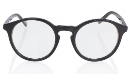 Sons + Daughters Round Glasses  - This glasses frame are the definition of geek chic, with their round, thick black frame.