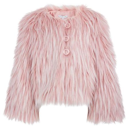 Little Marc Jacobs Faux Fur Coat