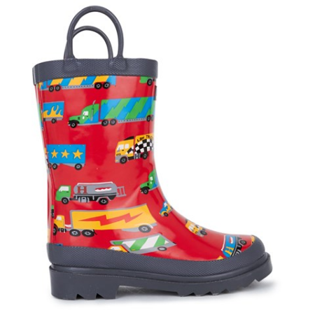 HatleyRed Welly Boots With Stirrup Handles