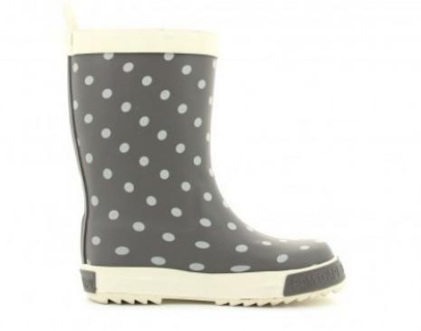 POM D'APIForest dots raindboots Grey