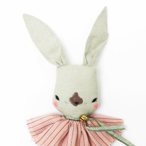 RABBIT Fabric Doll