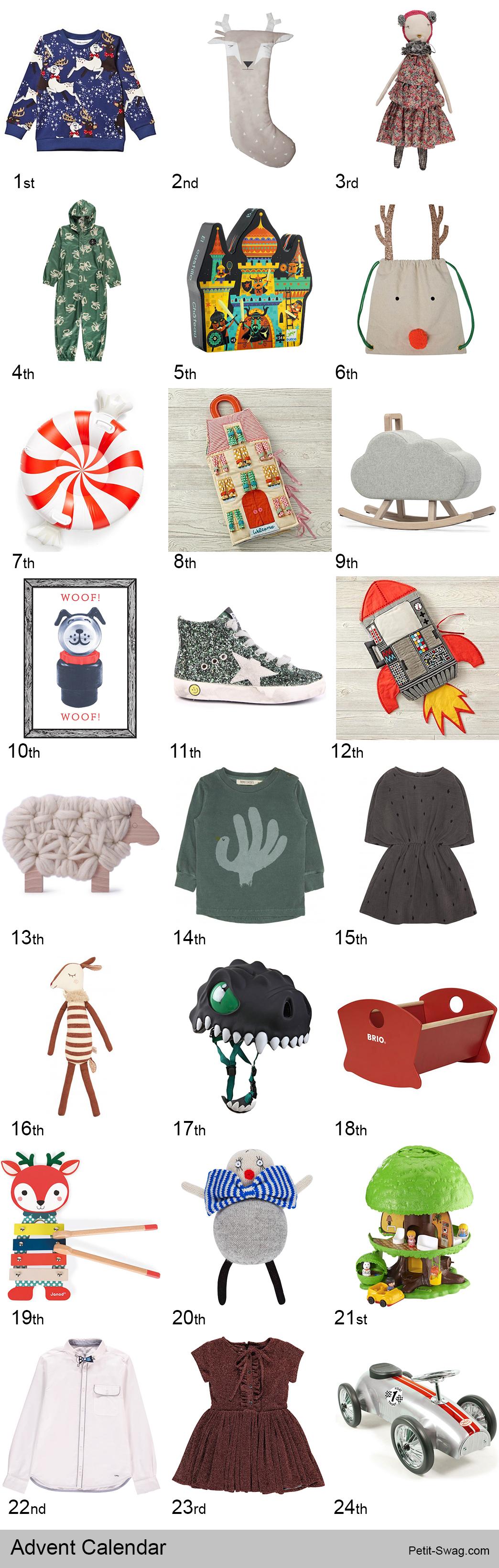 Advent Calendar | Petit-Swag