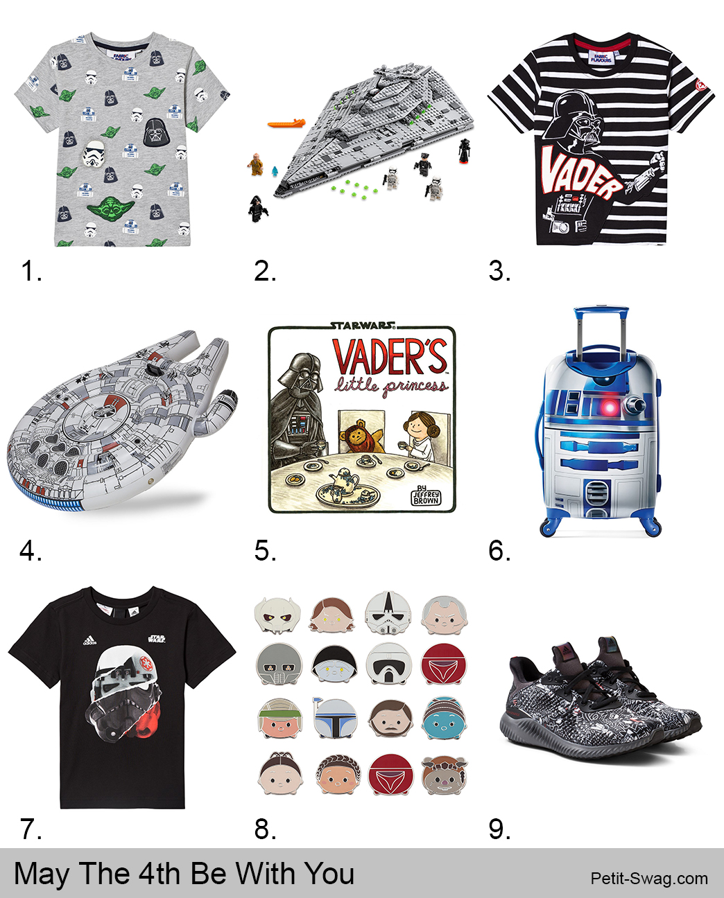 May The 4th Be With You | Petit-Swag.com