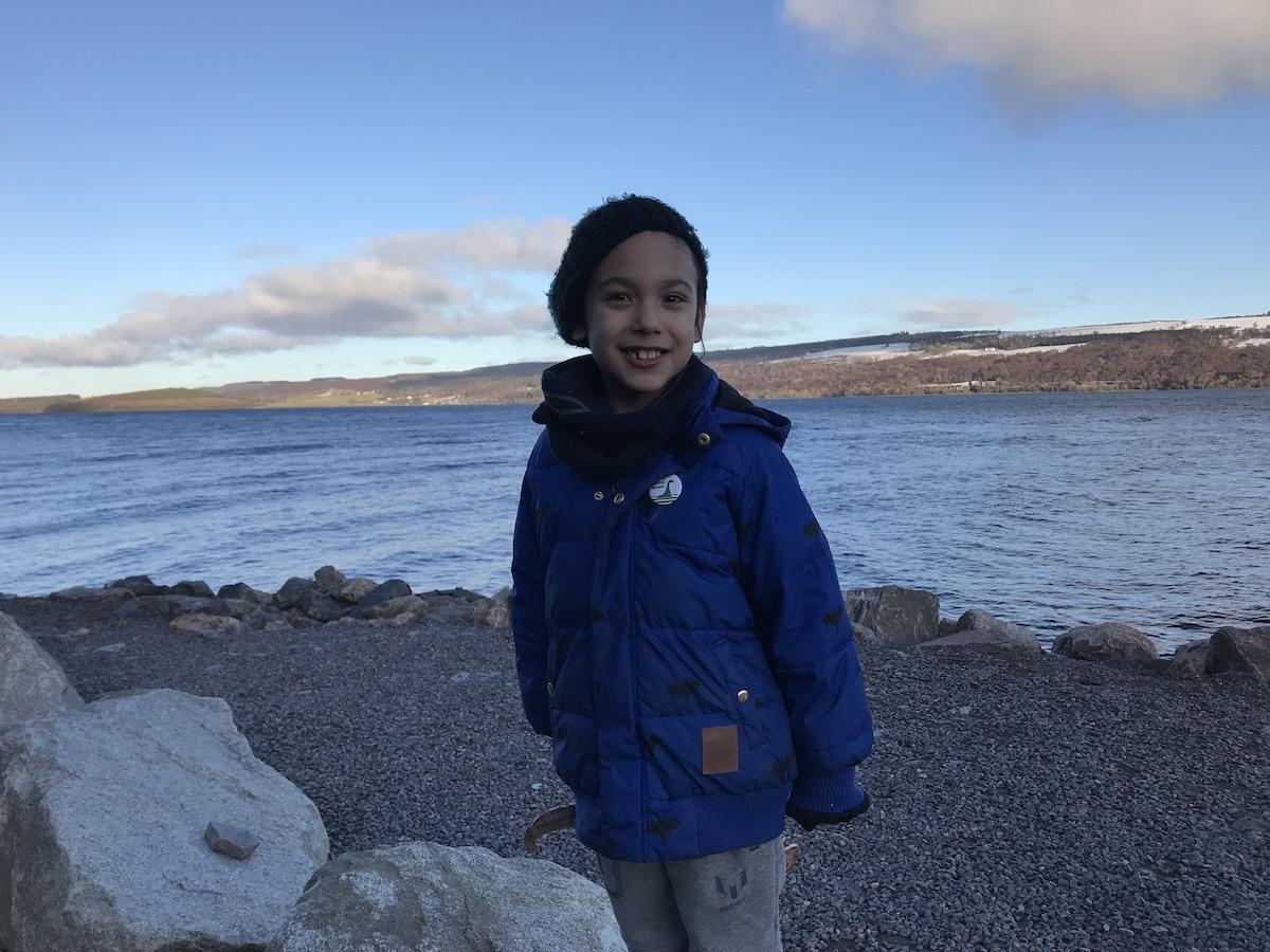 Mario at Loch Ness