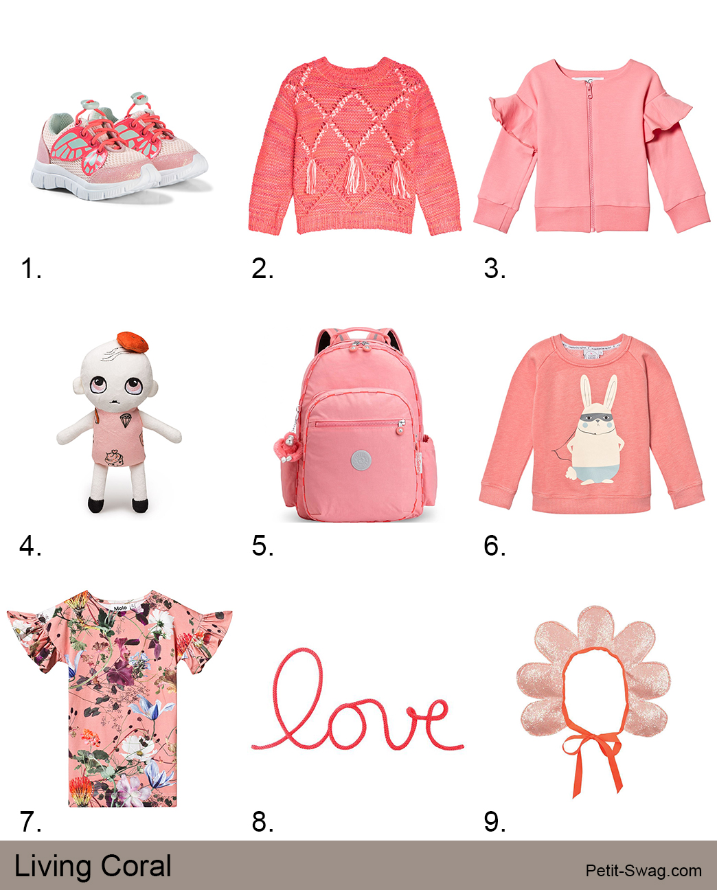 January'19 Living Coral | petit-swag.com