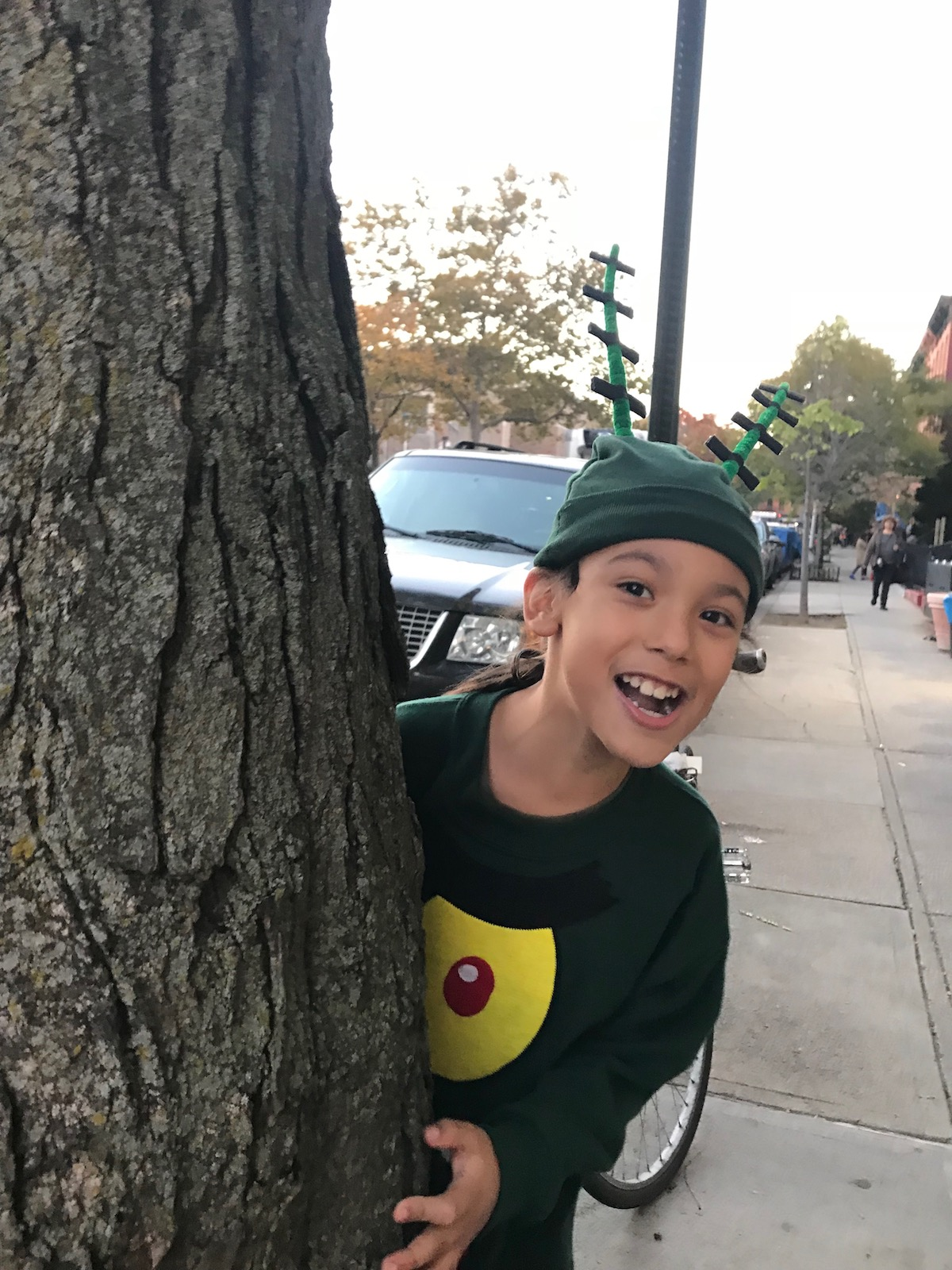Mario Trick-or-Treats in Brooklyn | petit-swag.com