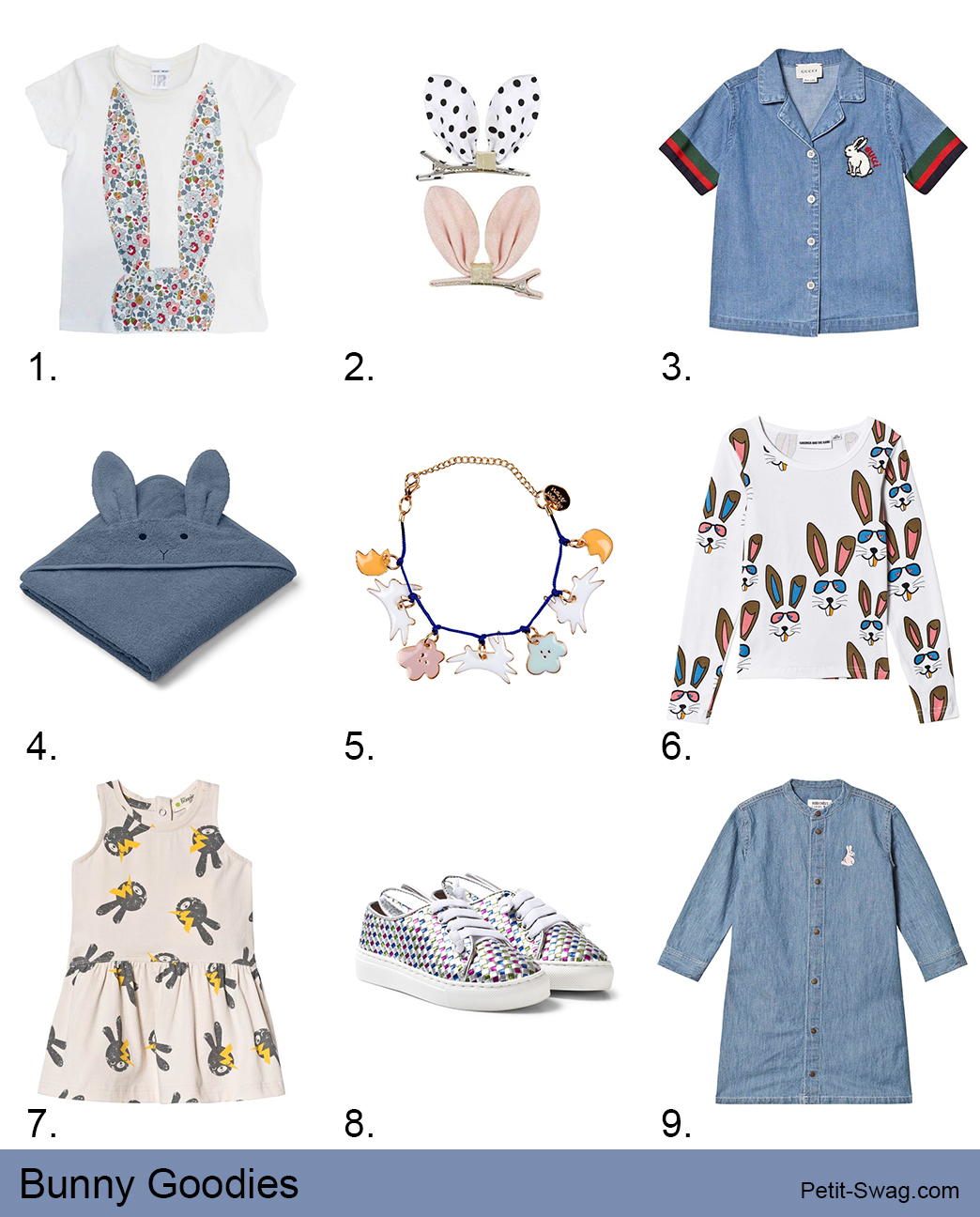 April '19 Bunny Goodies | petit-swag.com
