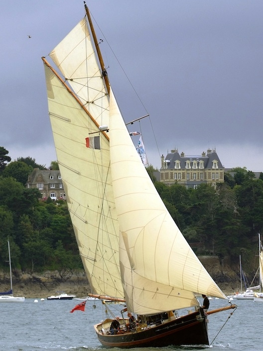 Pilot Cutter in St.-Malo Bay, Brittany