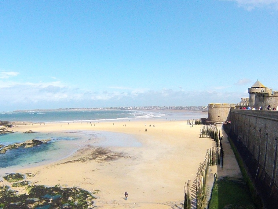 St.-Malo's first-place beach—at least for a year.