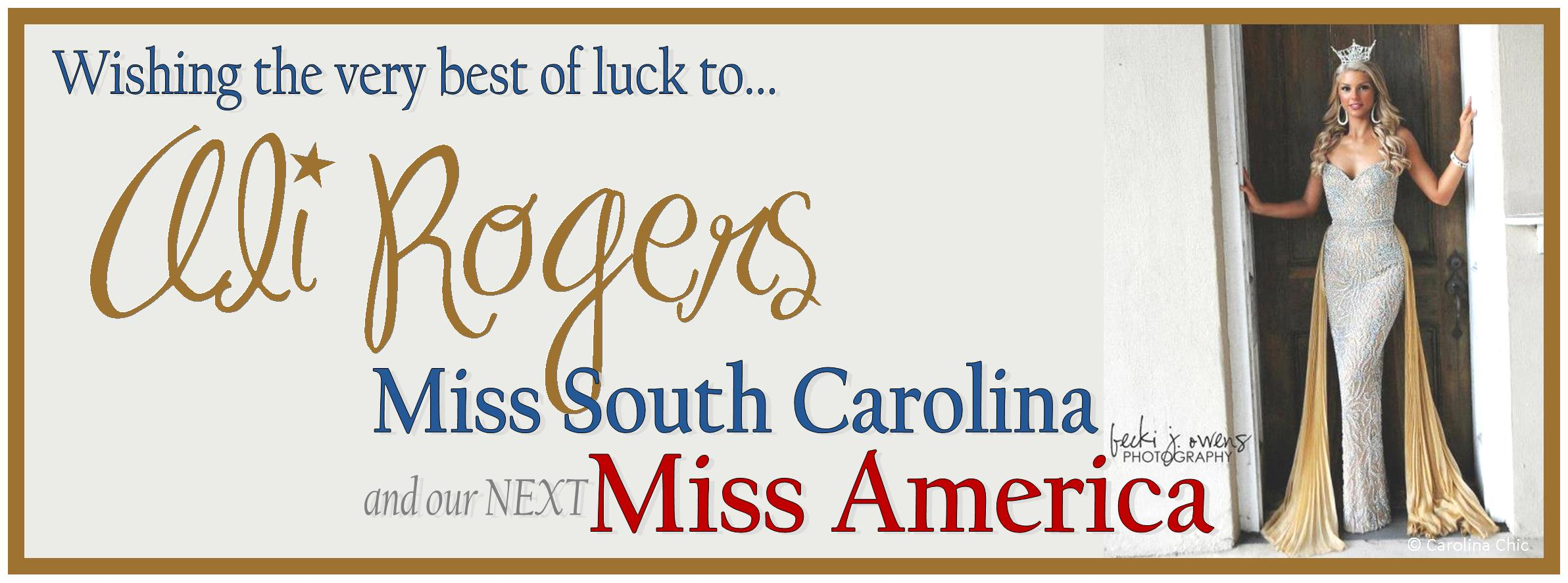 FB TIMELINE COVER / Miss South Carolina
