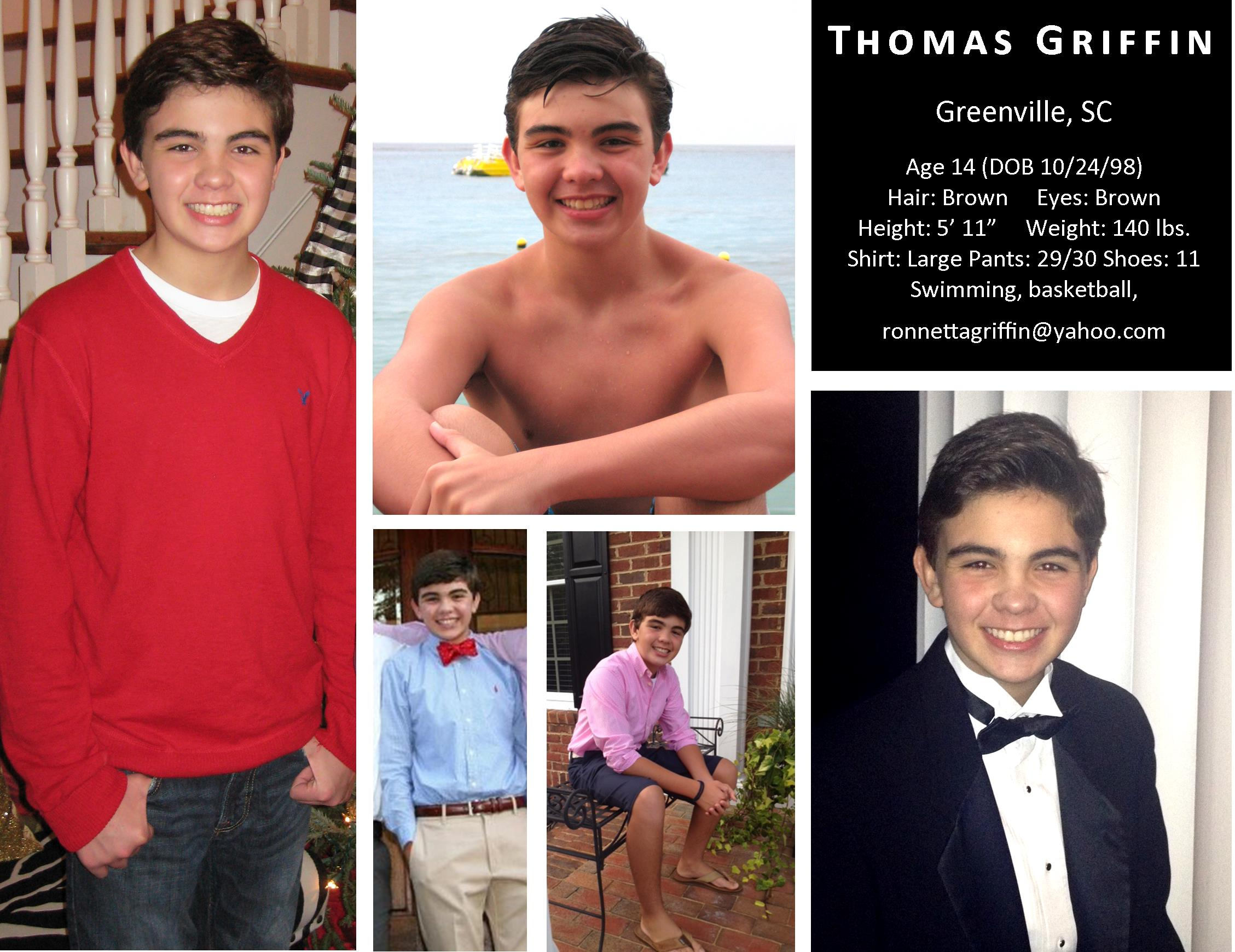 COMP CARD / Thomas