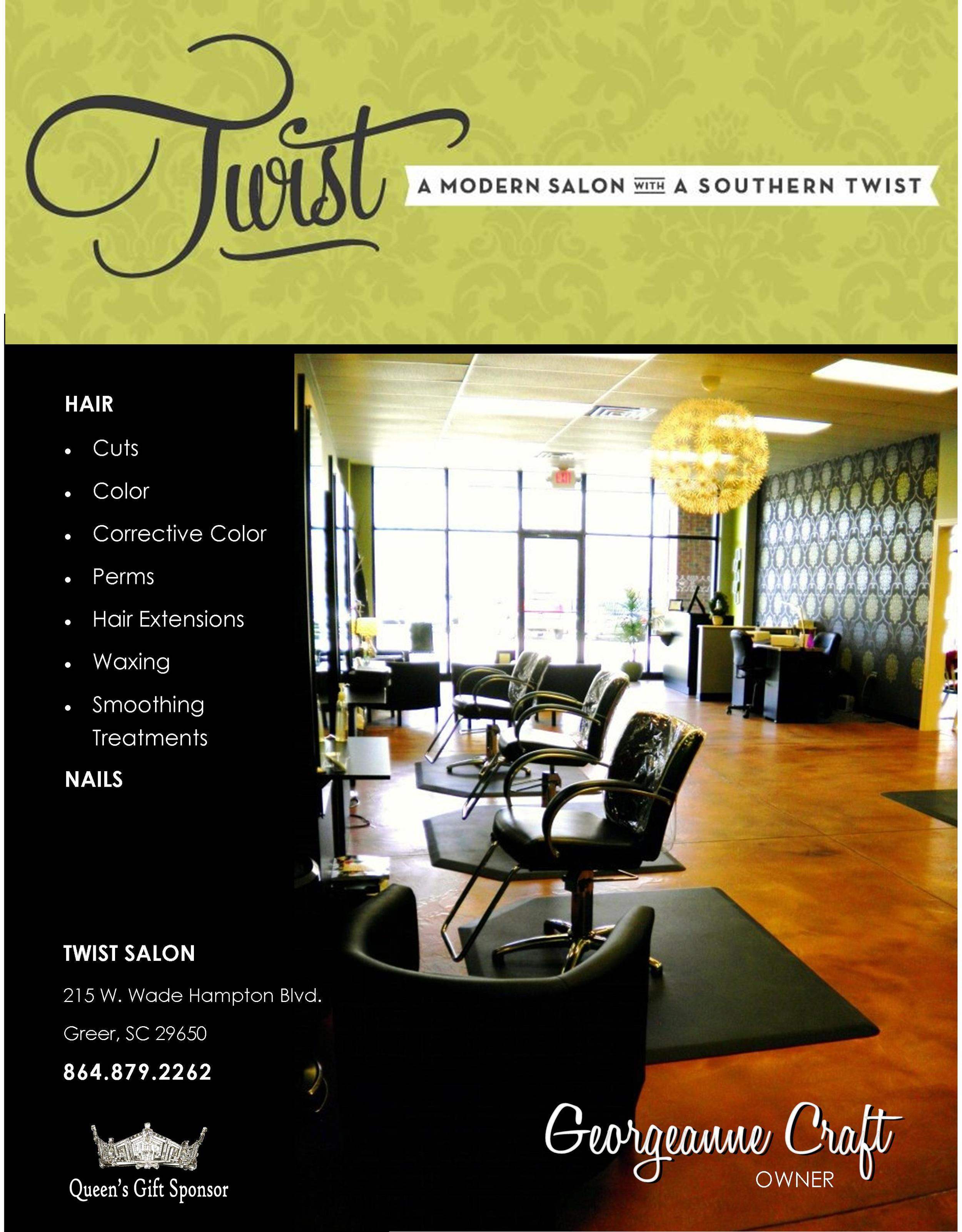 AD / Twist Salon