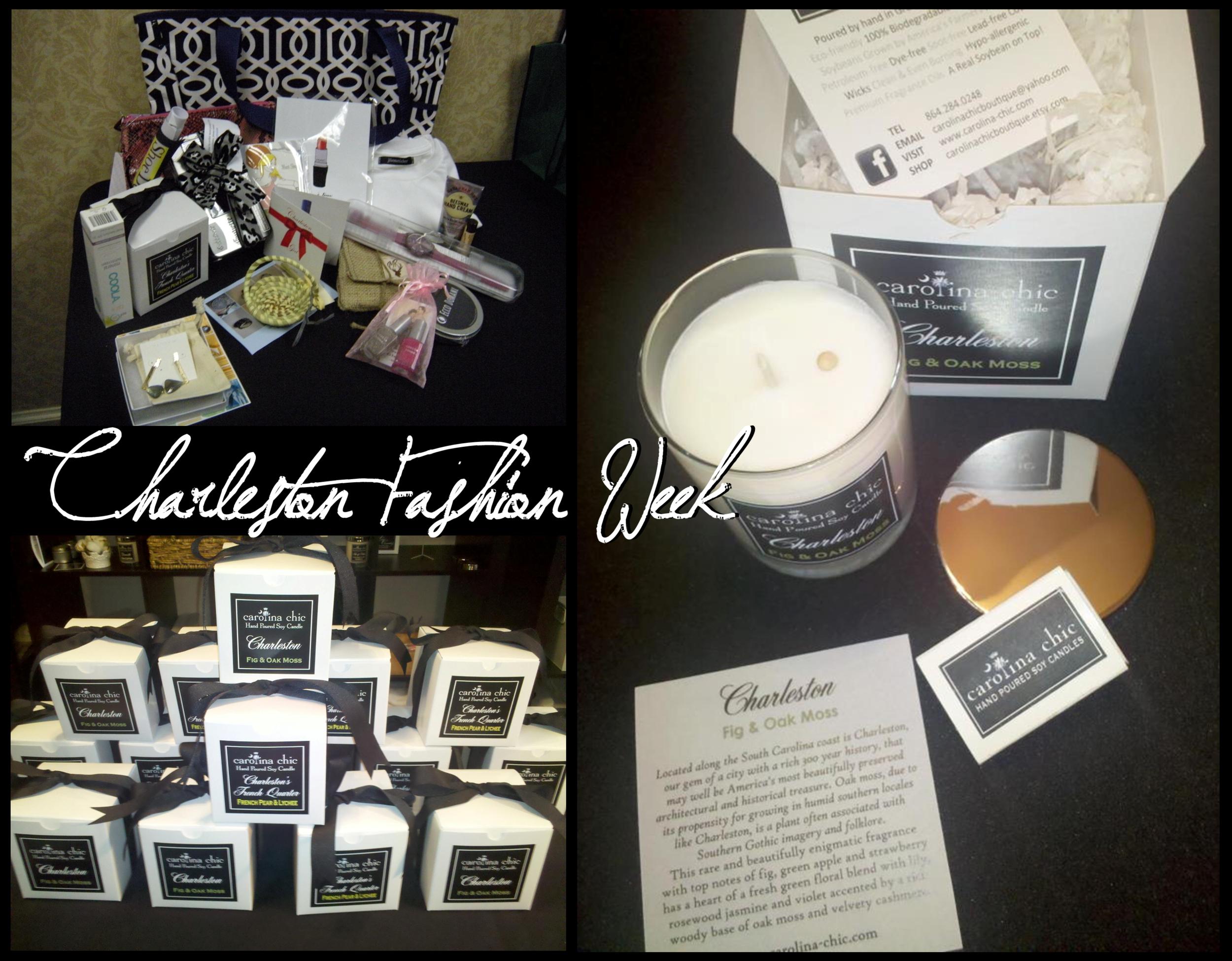 Charleston Fashion Week / VIP Gifts