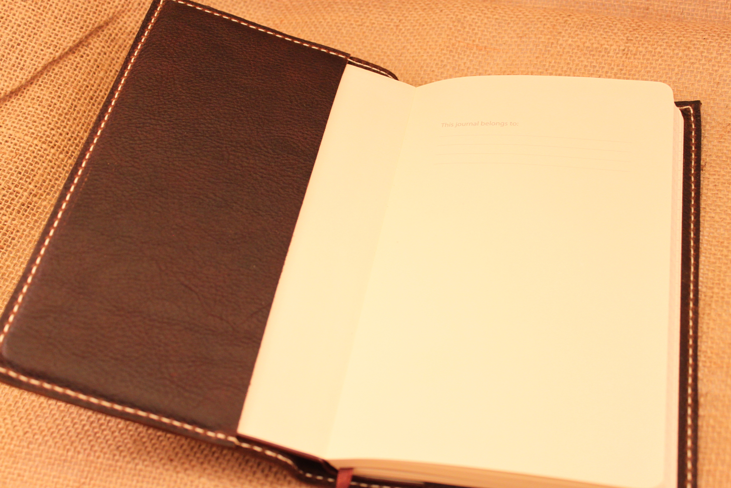 The Journals are a standard size, so it is easy to find a replacement to slip into the case after you fill one up.
