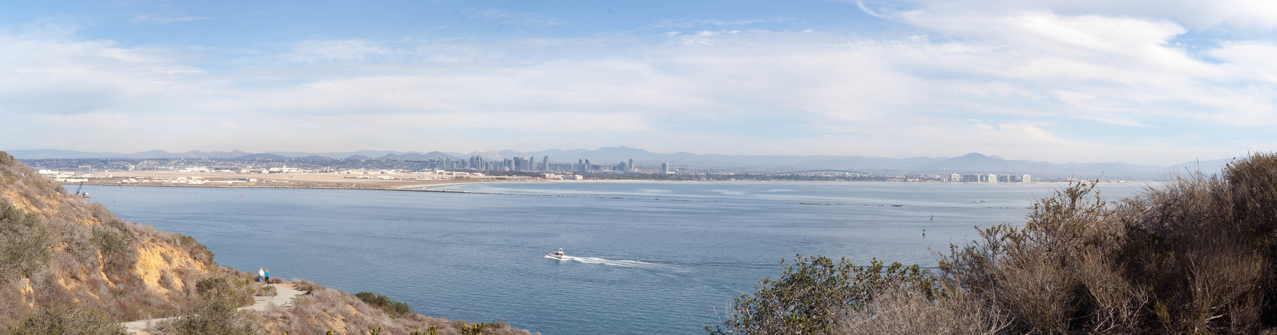 San Diego and Coronado from Cabrillo Monument