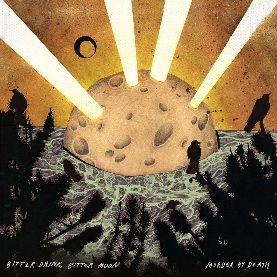 Beautiful Album Cover for MBD's Bitter Drink, Bitter Moon