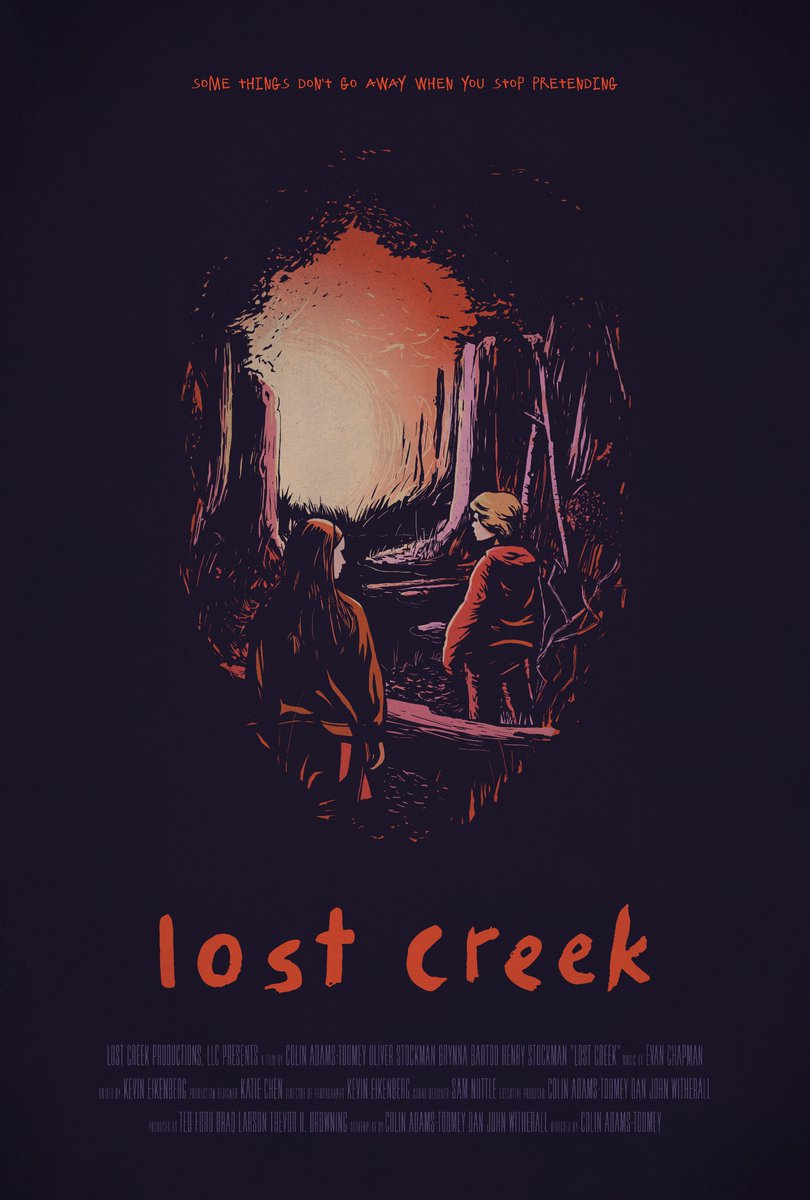 Official Lost Creek Poster by Rafael de Melo Krug and Team