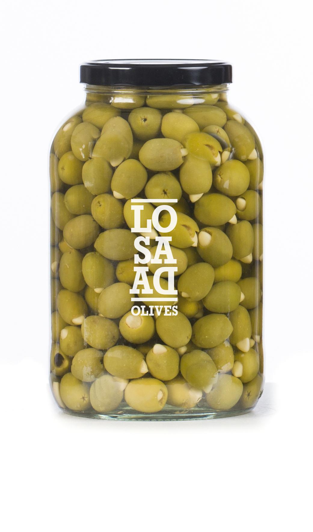 Losada Gordal Garlic Stuffed