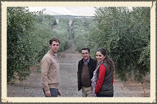 O-Med is (left to right):   Juan de Dios Garcia Casas  - Farming and Production Manager   Juan de Dios Garcia Molino  - Patriarch of the family, missed by all who knew him   Paula Garcia Casas  - Director of international Sales