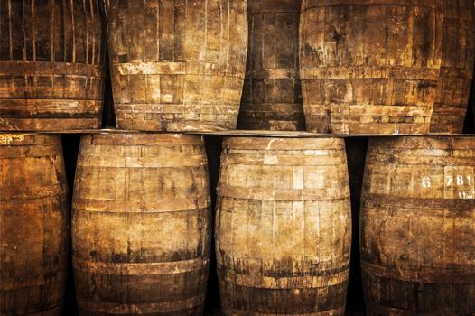 SkullCoast rum barrels