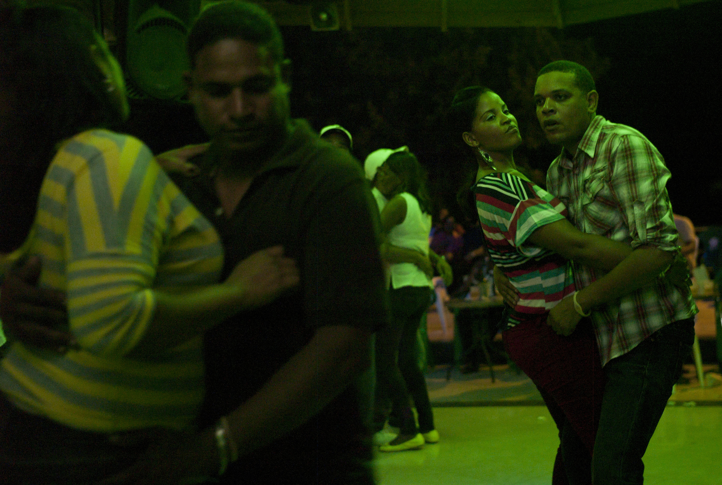 Dancing,  Barahona, Dominican Republic.