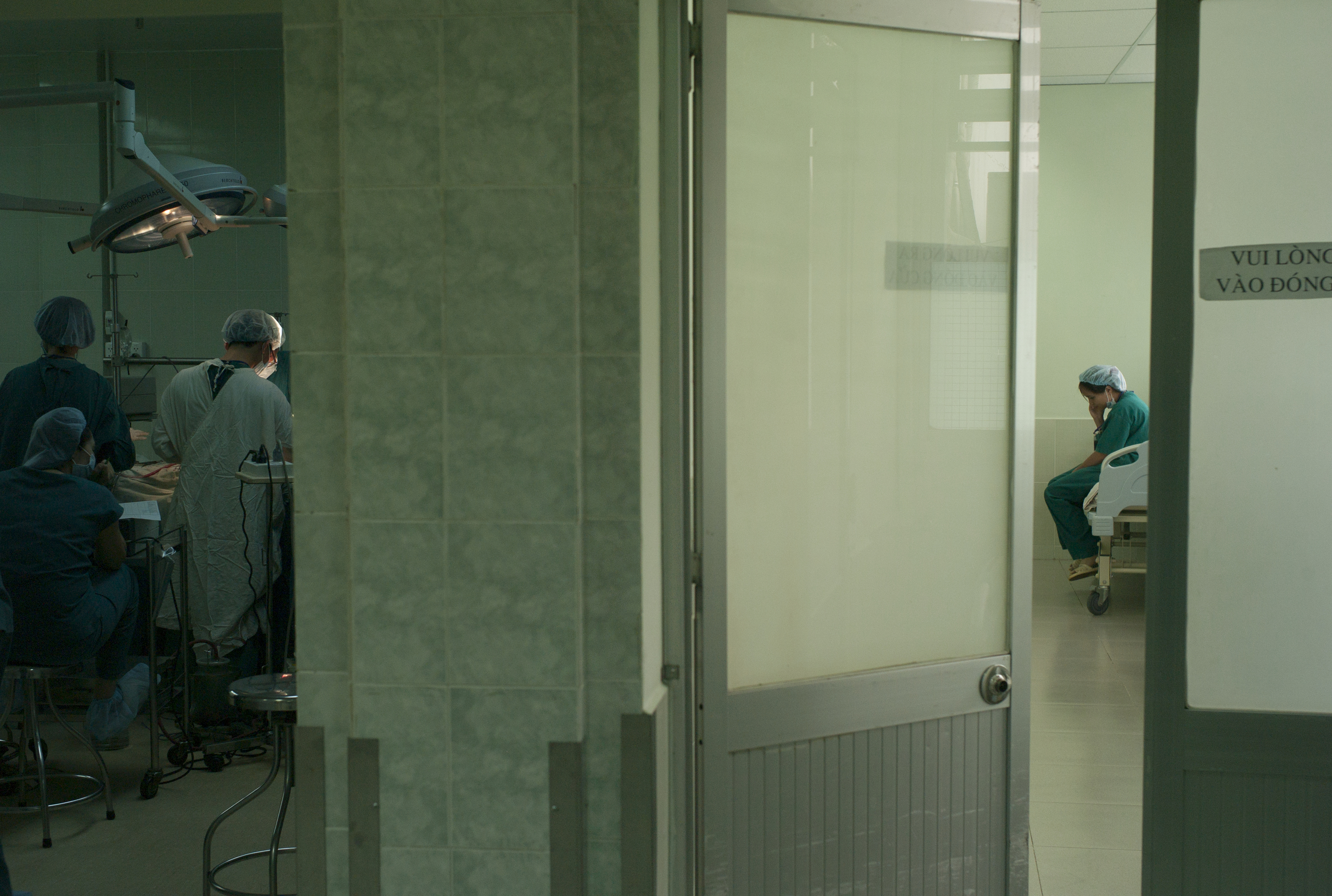 Surgical ward,  Ho Chi Minh, Vietnam.