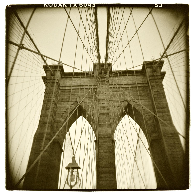 """Brooklyn Bridge, New York"" H1475"