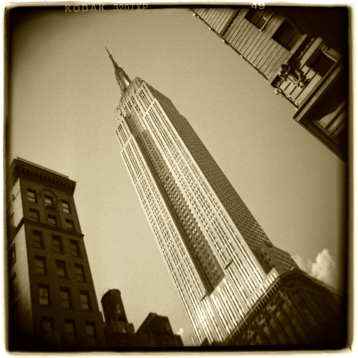 """""""Empire State Building, New York"""" H1476"""