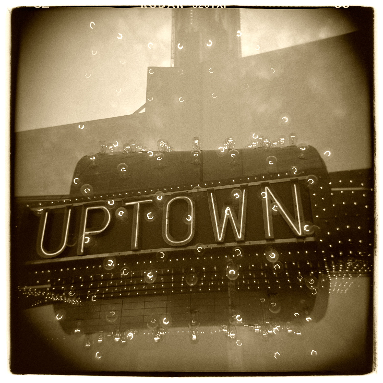 """""""Uptown Theatre, Minneapolis"""" H1482 (In-camera Quadruple Exposure)"""