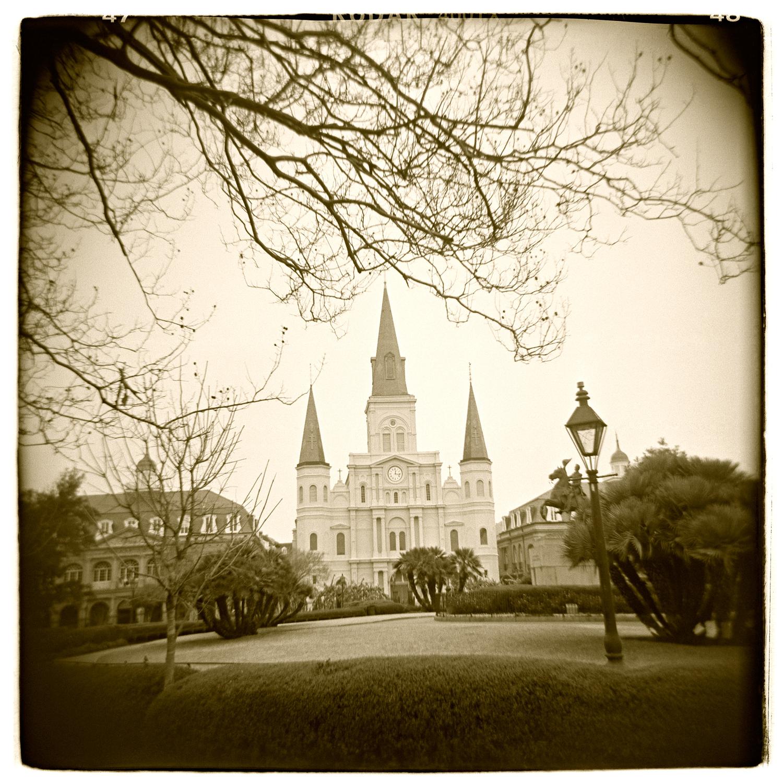 """Jackson Square, New Orleans"" H1484"