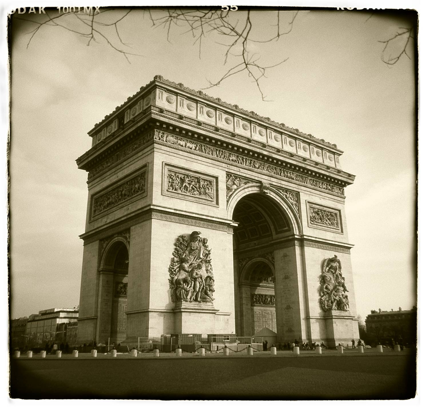 """Arc de Triomphe, Paris""  H1810"