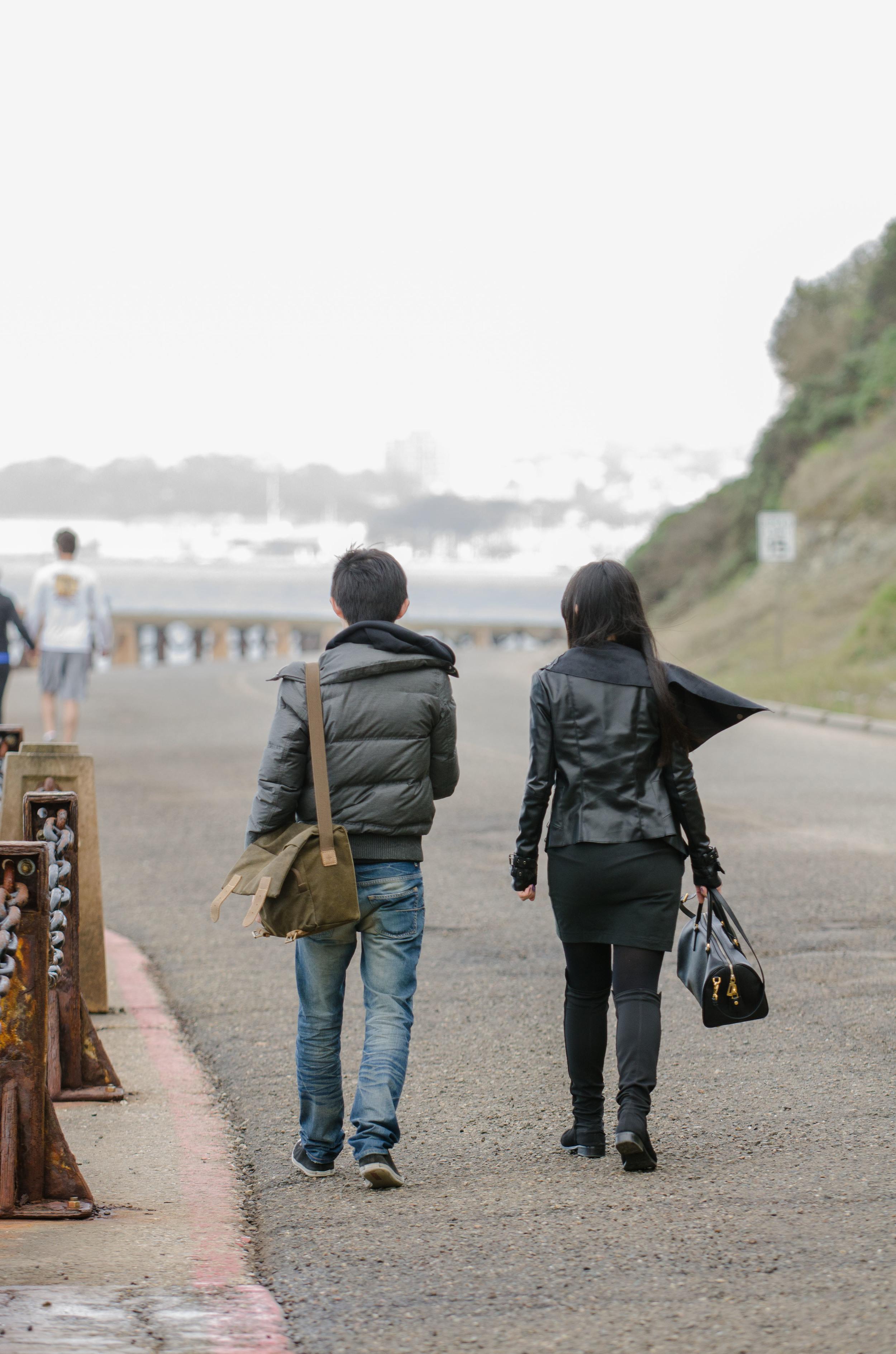 A walk from the bridge, San Francisco, CA