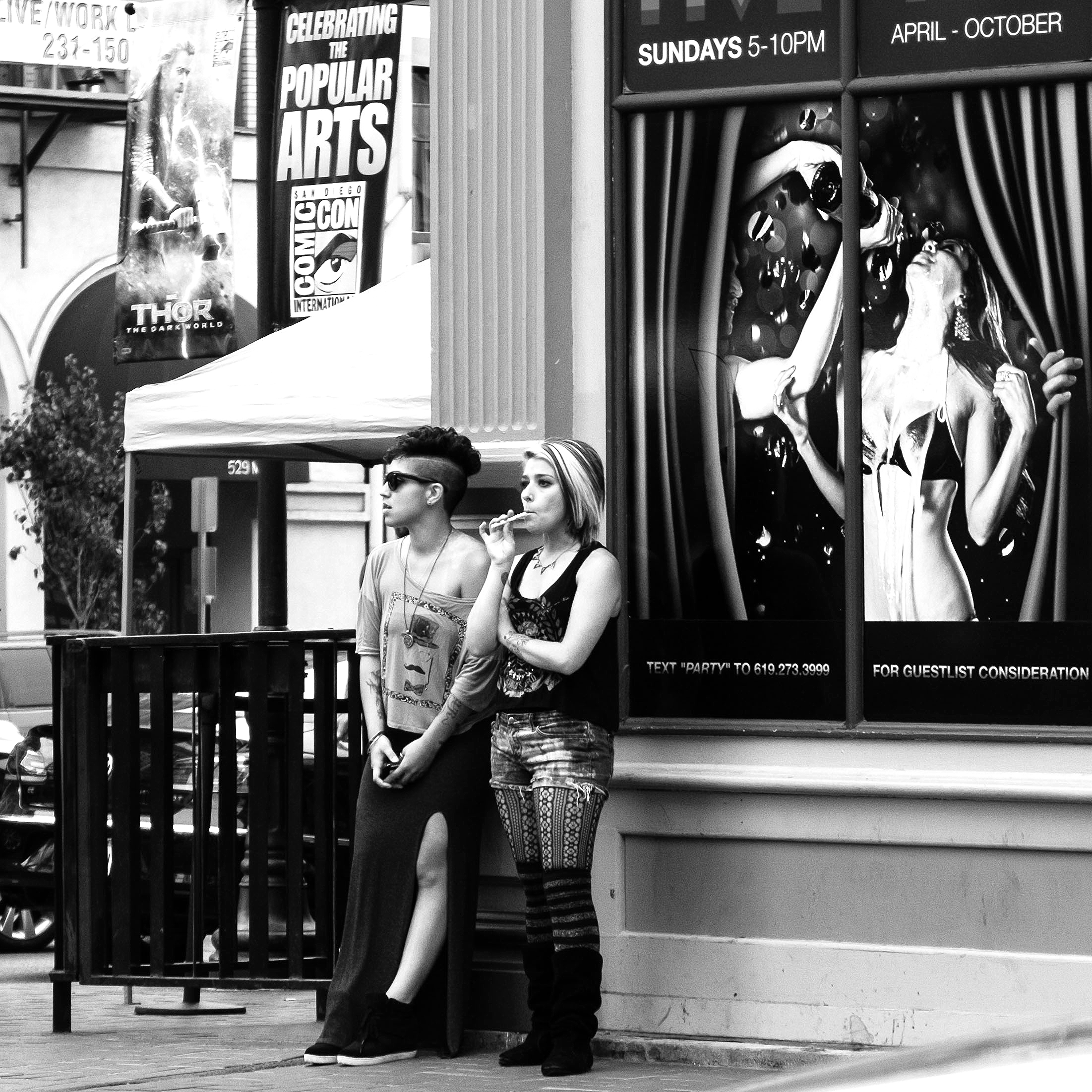 2 Girls and a Lolipop; San Diego, CA