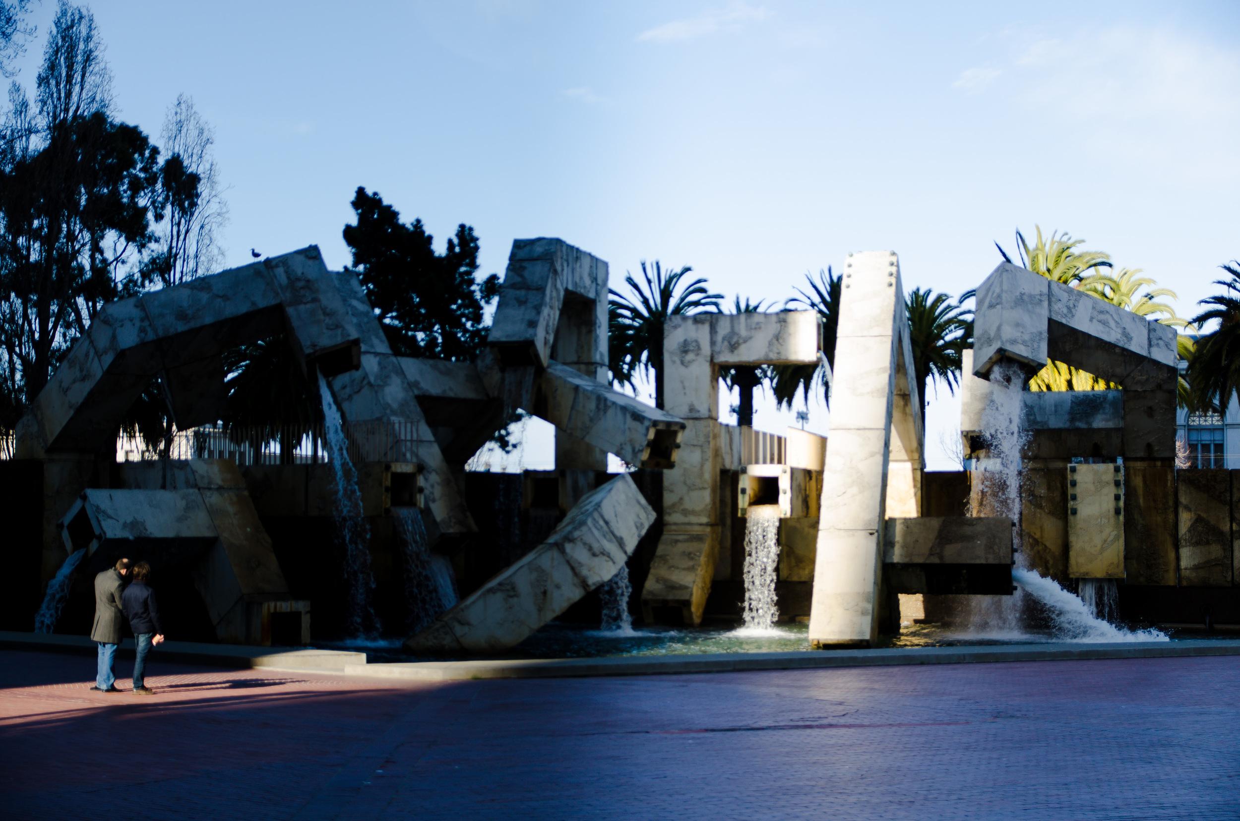 Vaillancourt Fountain; San Francisco, CA