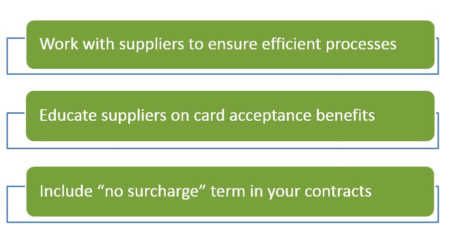 Three proactive measures to take with suppliers