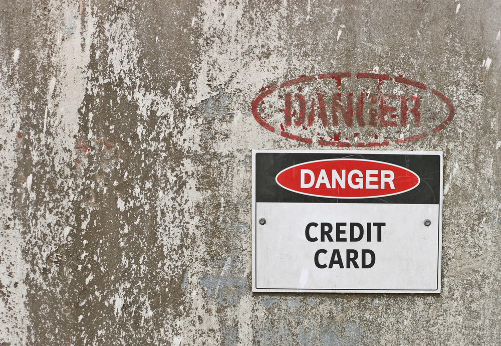 Credit cards are not dangerous; rather, inaction in response to questionable activity and/or a lack of controls are dangerous.