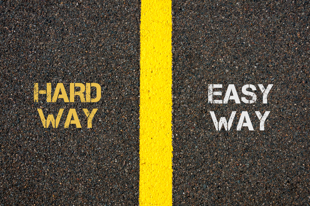 Within the realm of your P-Card program, what can you do to get into the easy lane more often?