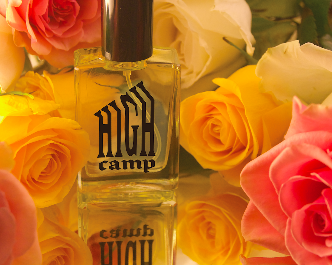 HIGH CAMP, the debut fragrance from GODDESS is here .
