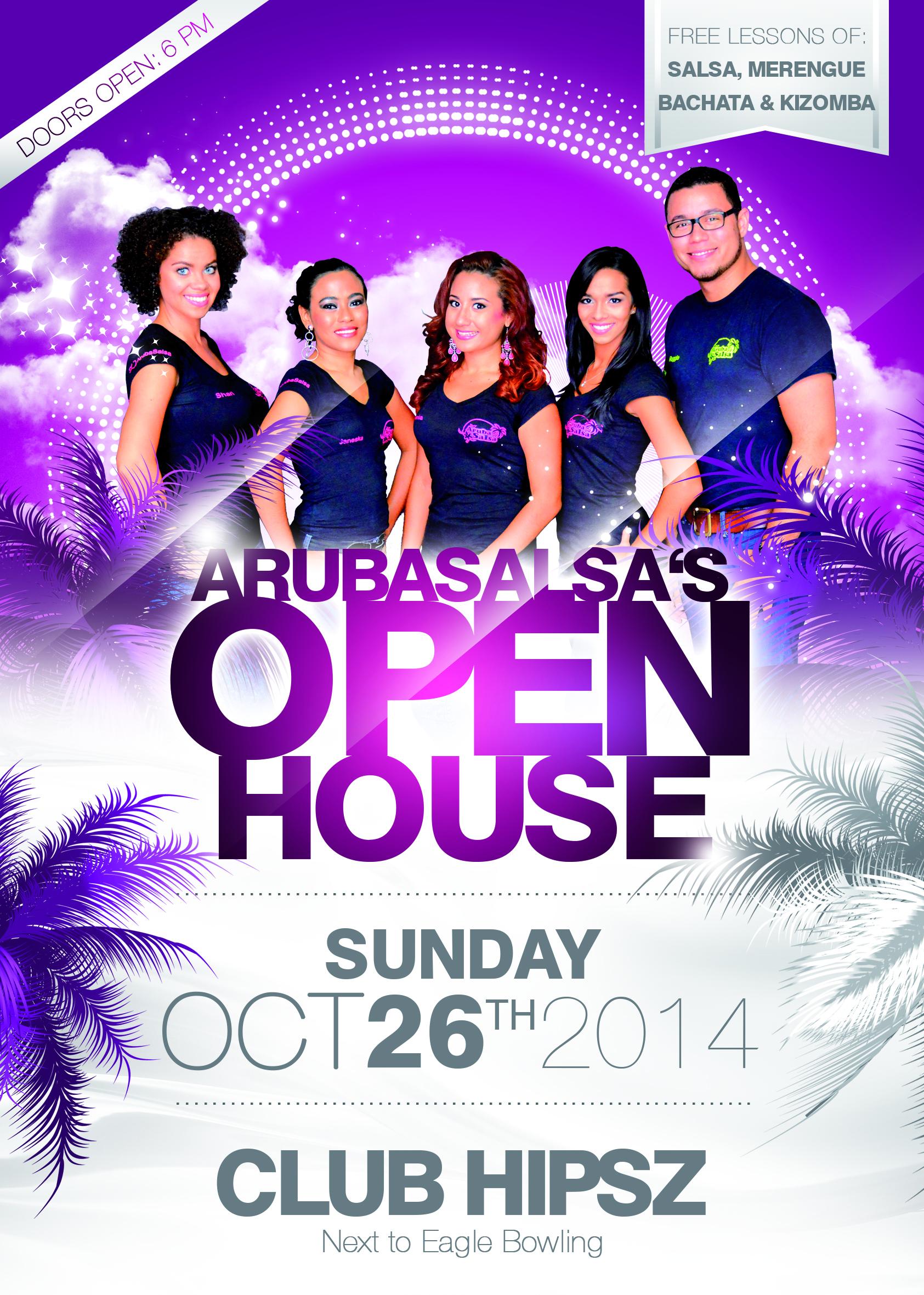 ArubaSalsa's Open House October 2014